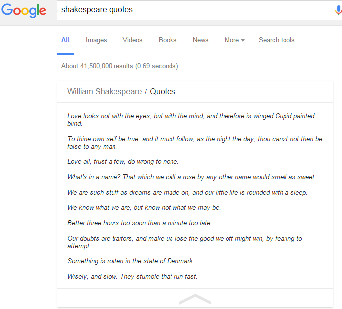 shakespeare quotes wp