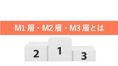 M1層 M2層 M3層