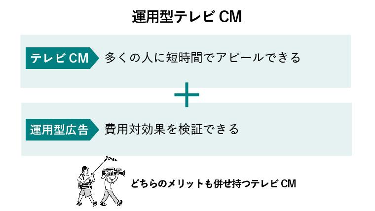 運用型テレビCM
